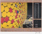 Christo  The Wall Nr. IV (1999) signiert
