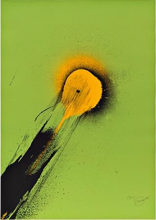 Otto Piene, Ohne Titel, 1975