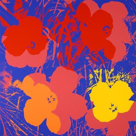 Andy Warhol, Sunday B .Moning Edition - Blumen 66, o. J.