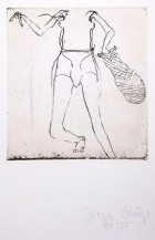 Joseph Beuys, Taucherin, 1982