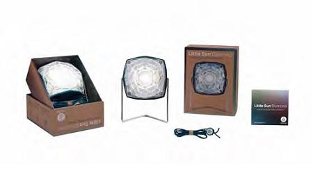 Eliasson Little Sun Diamond mit Verpackung