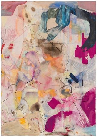 Alexander Iskin, Arturbating 4, 2020, Öl auf Leinwand, © Alexander Iskin / courtesy SEXAUER Gallery, Berlin